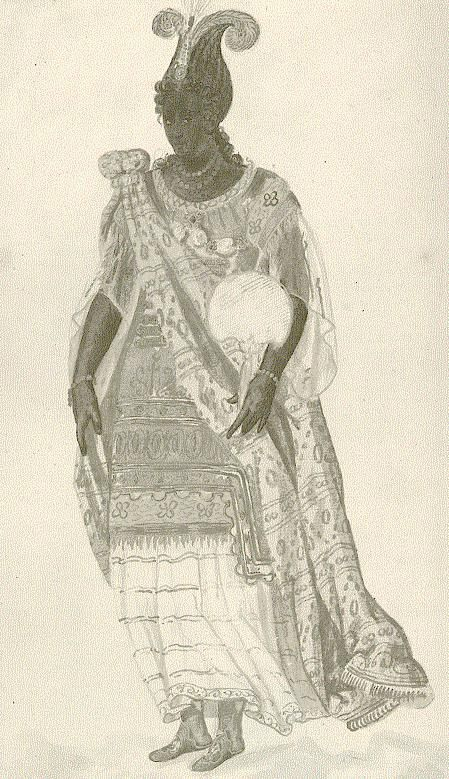 Anne of Denmark, the grandmother of the Black Boy AKA King Charles II Stuart
