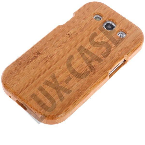 Samsung Galaxy S3 Deksel - treverk