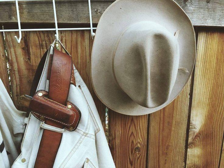 ONDURA durable goods Workman Belt & Pocketknife + Holster Western Style Leathergoods