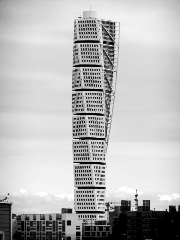 Turning Torso, HSB building in Malmö, Sweden