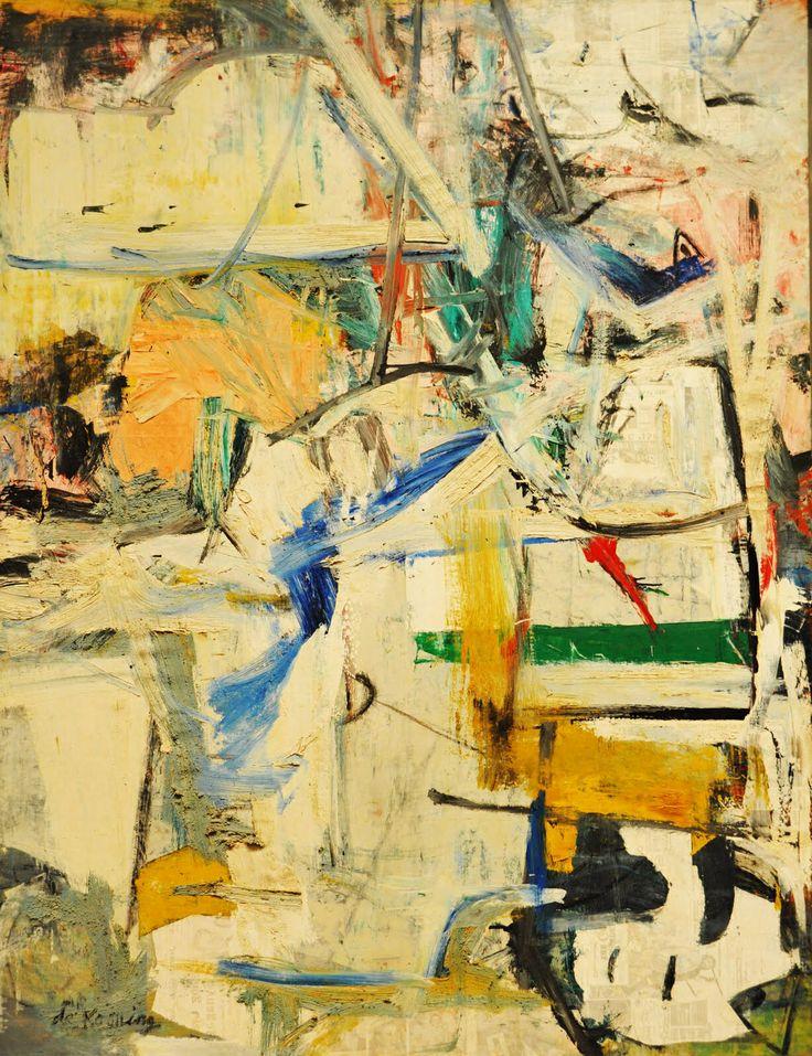Willem de Kooning - Easter Monday (1955-56)