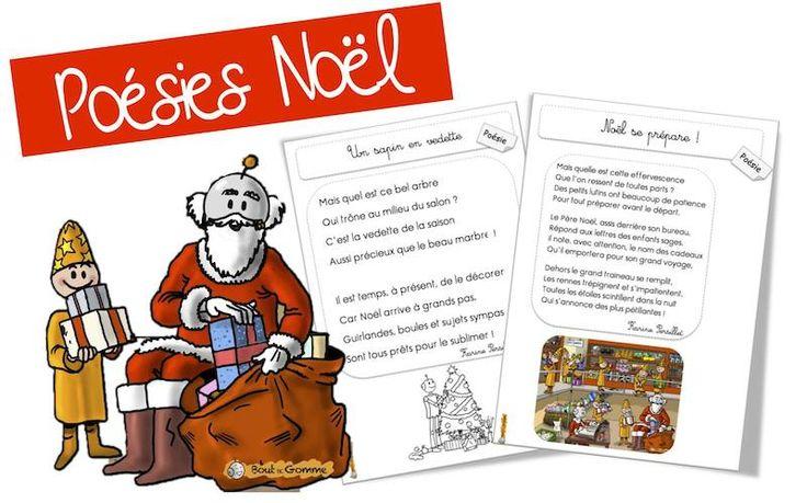 Poésies de Noël - Bout de gomme -