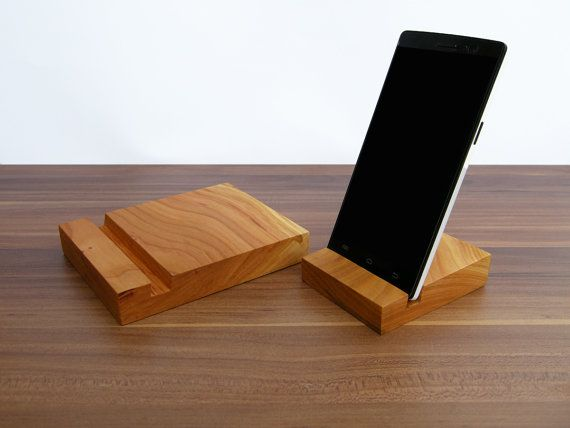iPad and iPhone stand. 1 x Wooden iPad Stand. 1 x by Magowood