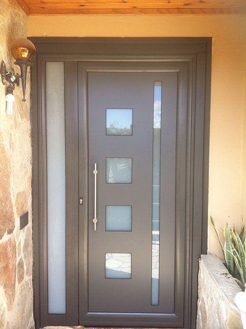 Aluminios garcilaso productos puertas de entrada de - Puerta balconera aluminio ...
