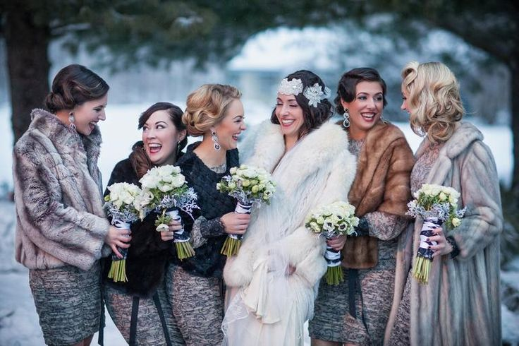 18 Photos That Will Have You Dreaming of a Winter Wedding | Photo by: JORDAN BRIAN PHOTOGRAPHY | TheKnot.com