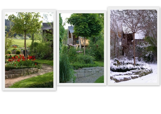 558 besten garden Bilder auf Pinterest Gartengestaltung ideen - reihenhausgarten vorher nachher
