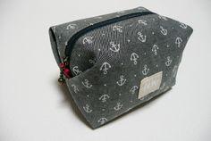 裏地付キャラメルポーチの作り方 | 布小物横丁-布小物の作り方