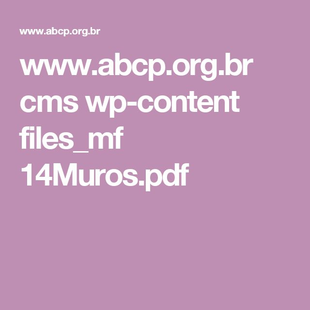 www.abcp.org.br cms wp-content files_mf 14Muros.pdf