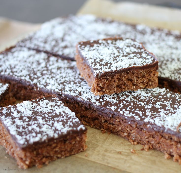 Exclusively Food: Chocolate Slice Recipe | recipes ...