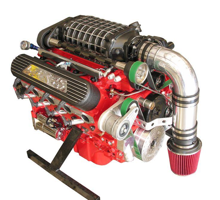Supercharged V8 S10 – Dekor