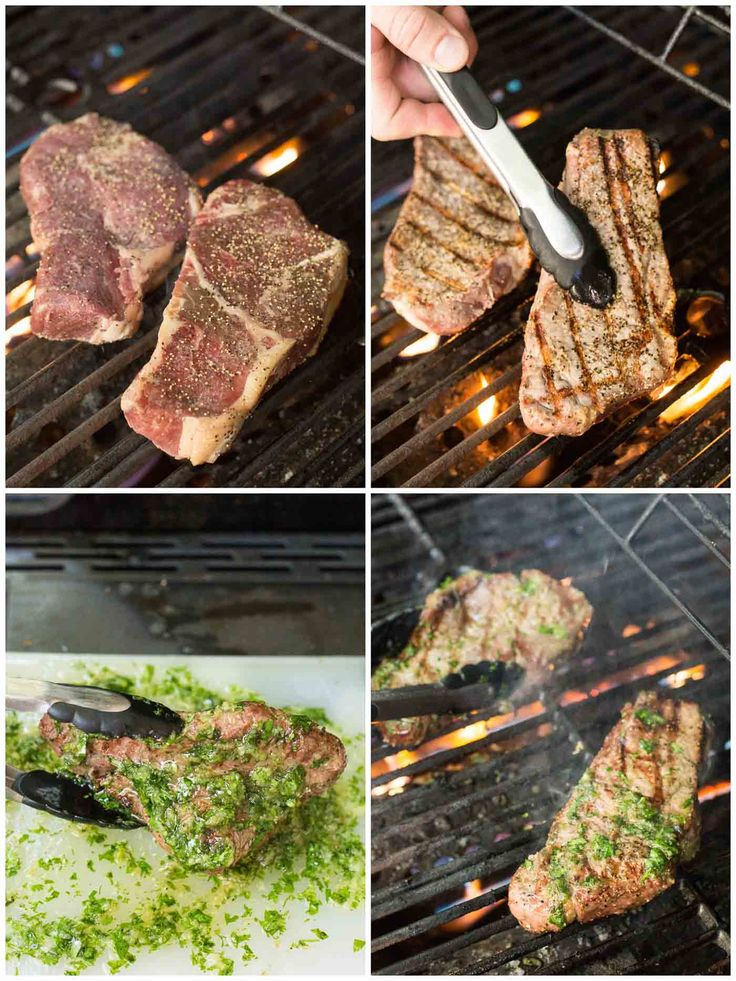 NY Steak with Cilantro Onion Dredge (Low Carb, Gluten Free, Paleo, Whole30)
