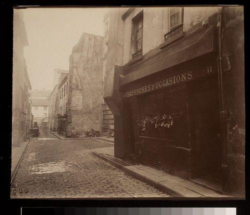Un Coin Rue St. Medard au No. 11 (5e) - Eugène Atget