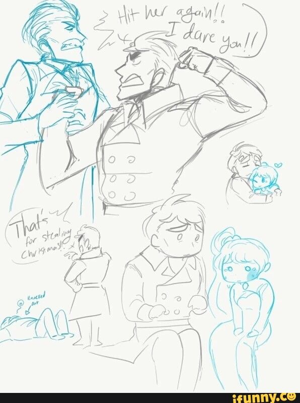 RWBY Love this idea of a fatherly James!!!