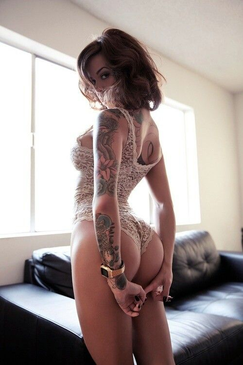 #inked #ink #tattoo #hot #girl
