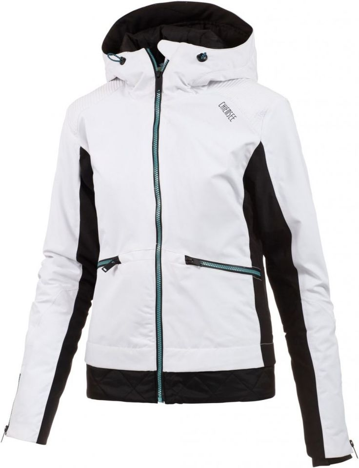 #Chiemsee #Odyssa #Skijacke #Damen #weiß/schwarz
