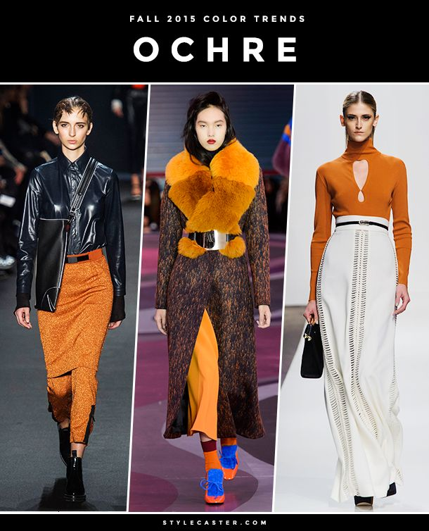 The 8 Biggest Color Trends for Fall 2015 | StyleCaster