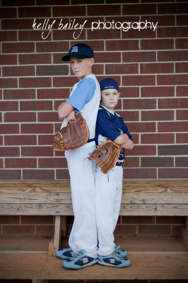 Baseball pictures  #kellybaileyphotography #siblings #family