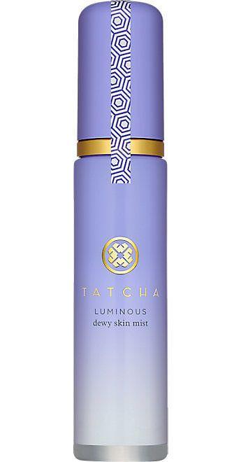Tatcha Luminous Dewy Skin Mist Set your look and add radiance with Tatcha Luminous Dewy Skin Mist ($48). Kim Kardashian at the 2015 Time 100 Gala   POPSUGAR Beauty