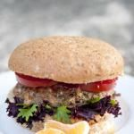 Baked turkey burgers | thegraciouspantry -- experiment with seasonings and serve without the bun.