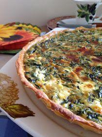 Lezzet Senfonisi: Ispanaklı ve Peynirli Kiş