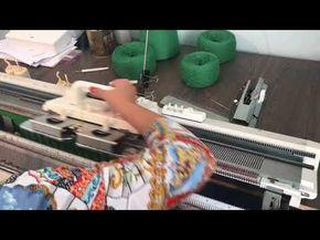 Вязание на двухфонтурной машине 5-го класса брюк и кармана брюк по мастер-классу