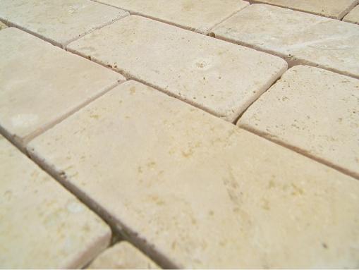 2x4 cream travertine travertine stones durango cream 2x4 bricks