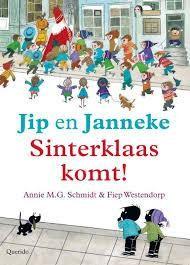 Boek Jip en Janneke - Sinterklaas komt