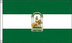 a bandera de andalucia 145x90cm bandera andaluza 90 x 145cm