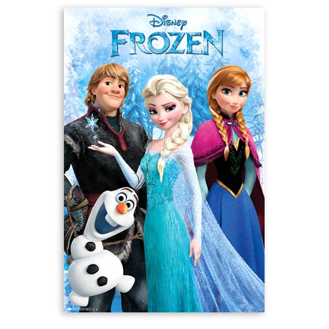 Frozen Posters Five Below Disneyside Frozen Poster