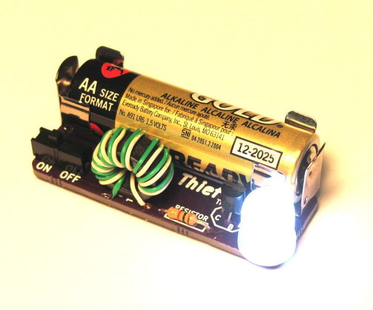Simple Highpower Led Driver Circuit Light Flashlight Circuitedited
