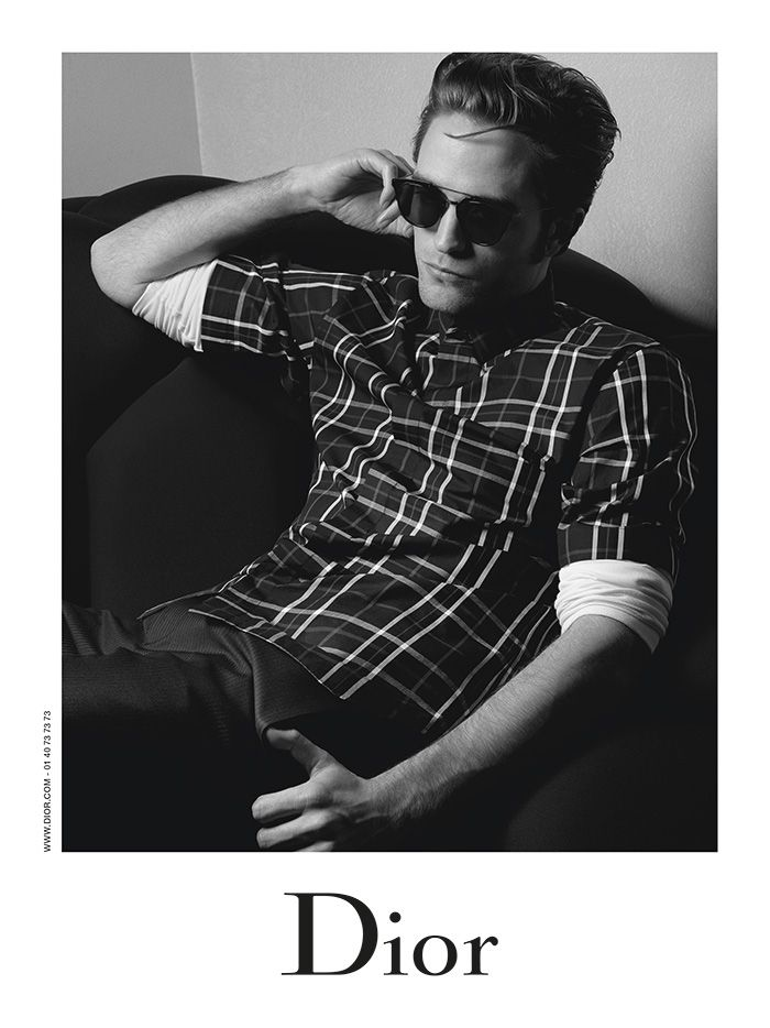 Robert Pattinson is revealed as the face of Dior Homme for Autumn 2016!