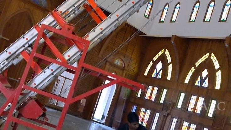 1  ALCO  Tiltable Tower Extendable Ladder