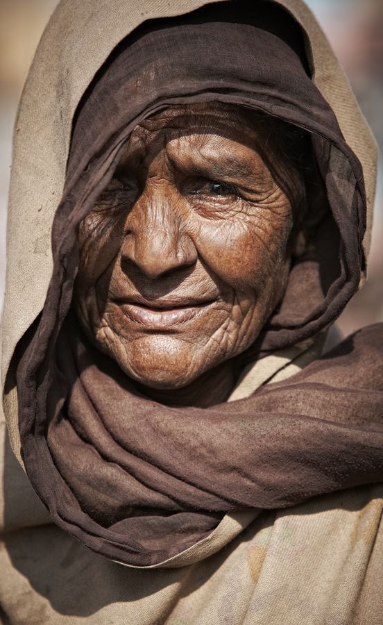 India, old woman