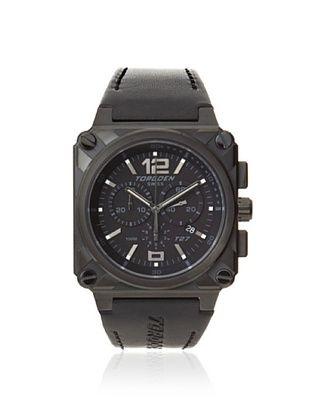 Torgoen Men's T27106 Classic Black/White Aviation Watch