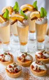 Bridal Bubbly: A Match Made in Heaven {Food & Drink Pairings}!