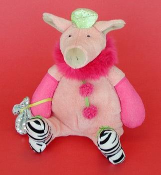 Dressed-Up MANHATTAN Toy Piggy (009024)