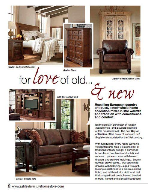 Ashley Furniture Trendwatch VintageCausal Decor Design TriCities Wa Yakima