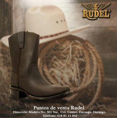 Compra tus #botas #Rudel favoritas en Durango. ;) #TradiciónRudel #Durango