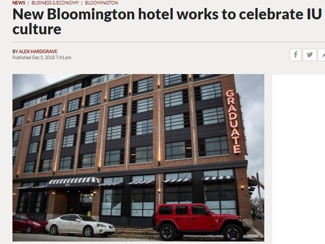 Graduate Hotels Expanding To Additional College Towns College Town Hotel Iowa City