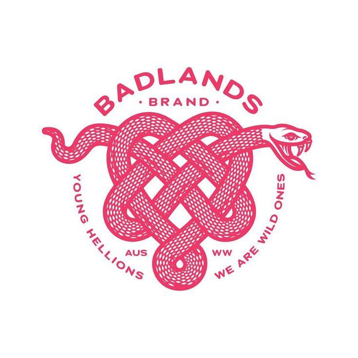 @badlandsbrand http://jrstudioweb.com/diseno-grafico/diseno-de-logotipos/