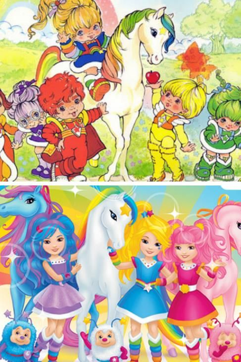 7 80s Characters From My Childhood Then And Now – What Happened?  2. Rainbow Brite Raids Nicki Minaj's Closet Remember Rainbow and her basically androgynous crew, the color kids? They were so cute and pinchable. Now they're sexy, tatted up teens that you could pinch … if you wanna risk being arrested for statutory rape. #kids #toys