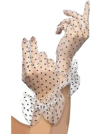 Doesn't every girl need a pair of polka dot gloves?