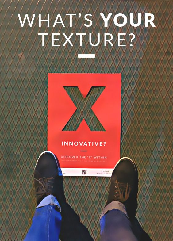 TEDxGUC Recruitment Campaign - What's Your Texture? on Behance