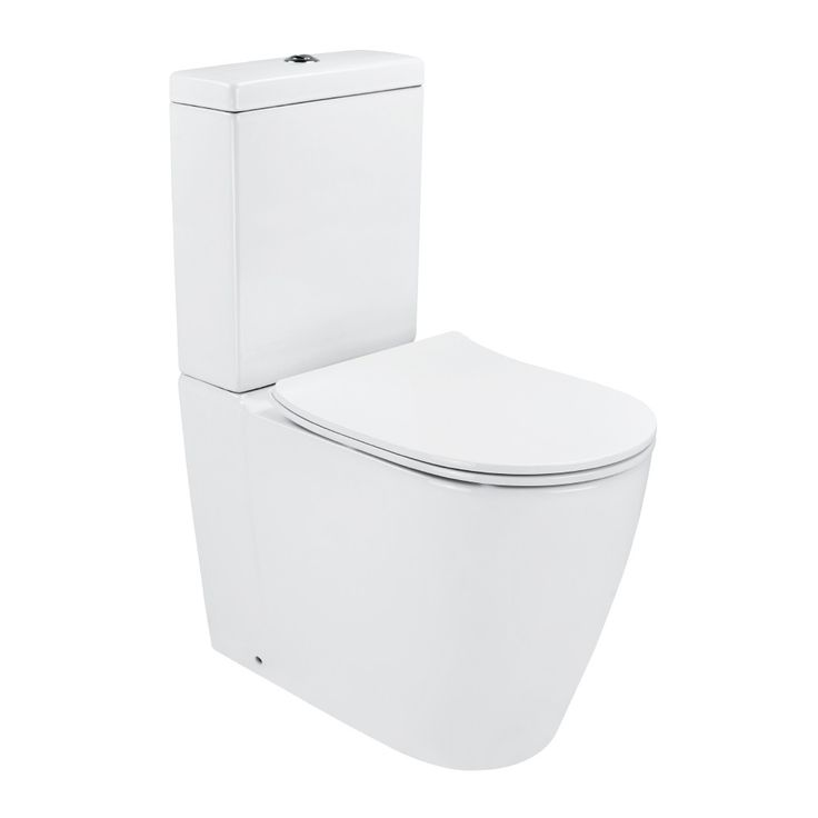 Synergii Back Inlet Toilet Suite Slim Line Seat   Streamline Products