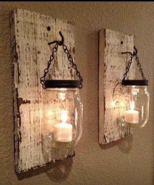 Das Herstellen von Wandwachs aus einem Glas ist sowohl sehr angenehm als auch sehr einfach.   – lamp