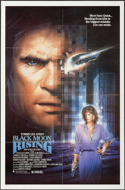 70's 80's Films: Black Moon Rising (1986)