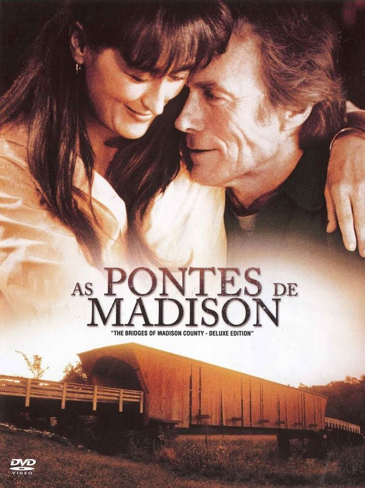 As Pontes de Madison (The Bridges of Madison County) Minha mae adorava.  De alguma forma me lembrou ele. A casca grossa de proteçao, o jeito firme, independente, e auto suficiente, mas que so precisava encontrar alguem. 19.10.2016