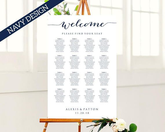 116 best Seating Chart Templates images on Pinterest - seating chart templates
