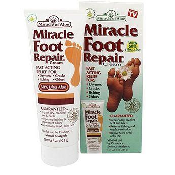 Crema para la resequedad del pie  Ayuda a suavizar la piel agrietada y seca Alivia la picazón y olores desagradables Seguro para el uso de los diabéticos