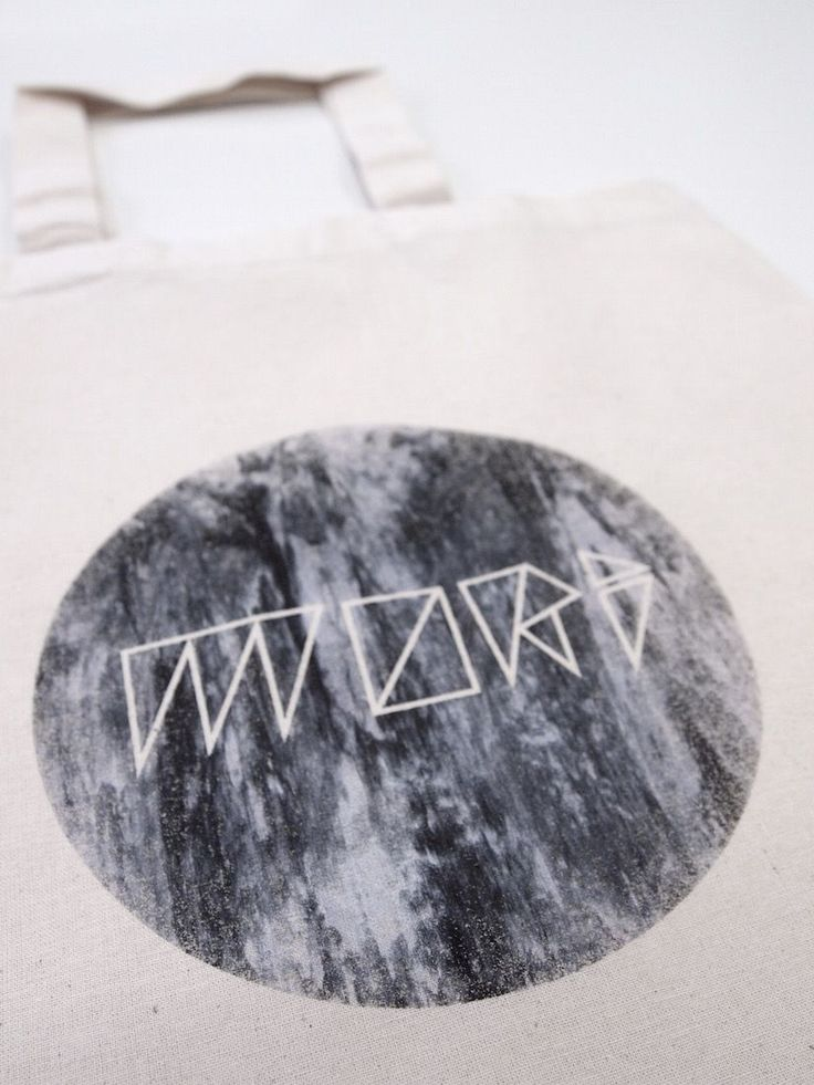 This unique hand-printed Mori Moon Fabric Bag is sold in MORI COLLECTIVE webshop.